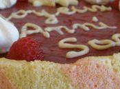 Gâteau d'anniversaire génoise bicolore mousses fruits l'agar agar... Effet garanti