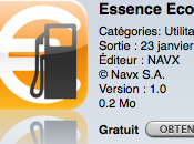Test AppStore Essence pour iPhone