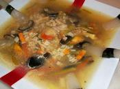 Soupe chinoise champignons pshiitoqués!