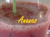 Smoothie Fraise-Ananas Basilic