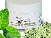 nouveau masque purifiant Essential Care