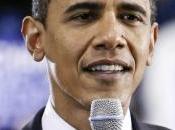 famille Obama dans chas d'une aiguille, images