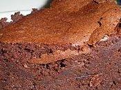 Moelleux mousseux craquelé chocolat