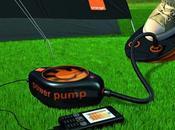 Chargeur téléphone écologique Orange power pump