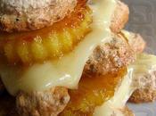 Cinquante-huitième participation Millefeuilles dacquoise noix coco ananas caramélisé