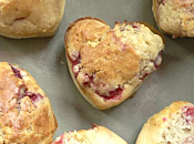Muffins chocolat blanc fraise