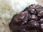 Semaine salée Steak rouge