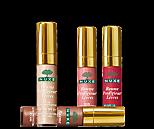 lèvres fraise Tagada avec gloss Nuxe