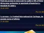 Festival Carthage 2009 payez ligne…bien droite guichets