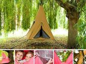 treepee suspended tree-house children