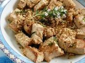 Tofu millet croustillant