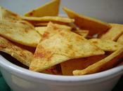 Tortilla chips maison