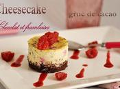 Cheese cake framboises-chocolat