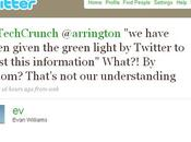 Twitter TechCrunch, raison