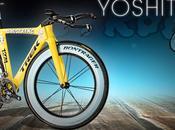 vélo personnalisé d'Armstrong pour contre-la-montre d'Annecy
