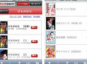 Japon mangas disponibles iPhone