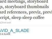 David Slade retour Twitter