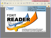 Foxit Reader freeware