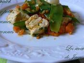 poulet petits légumes citronnés