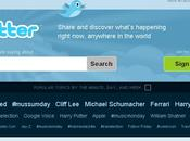 Twitter change page d'accueil (UI)