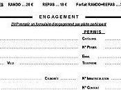 Engagement 20ème rando palombières (33) septembre 2009