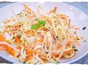 Salade Thaï cheveux d'ange crevettes