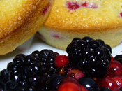 Financiers fruits rouges
