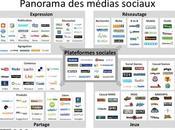 Médias sociaux usages internautes
