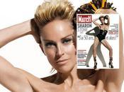 Sharon Stone pose seins pour Couverture Paris Match