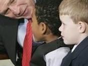 Bush enfants malades