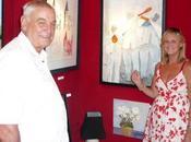 Trois peintres s'exposent Moulin Andé