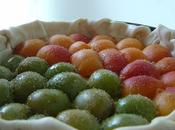 Tarte abricots prunes reines claudes