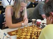 Défi franco-anglais échecs L'anglaise Sarah Hegarty l'emporte face Salomé Neuhauser