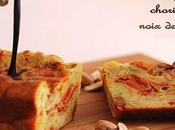 Cake chorizo, courgette noix cajou