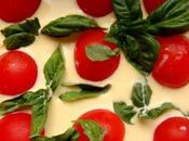 Tomates, ricotta, cheddar,