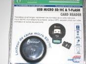 Lecteur carte mémoire Micro