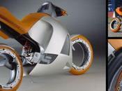Motorcycle Concept. Poschwatta 900.