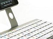 iKeyboard design aluminium iPhone