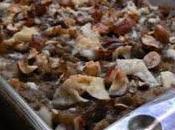 Parmentier d'aubergine noisettes pecorino
