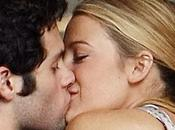 Spotted Blake Lively Penn Badgley kissing