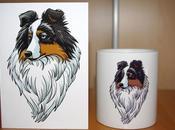Exemples mugs avec portraits^^