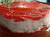 poivron fromage chèvre