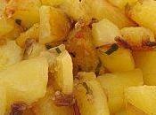Pommes terre sautées vinaigre