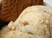 Crème glacée zestes citron spéculoos