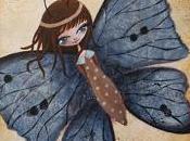 Papillon bleu Aziliz