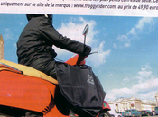 magazine Planète parle tablier scooter Froggy Rider