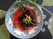 Salade betteraves rôties l'orange