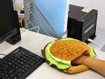 Hamburger réchauffe main