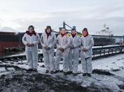 activistes bloquent cargaison charbon Arctique