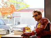 Iron Robert Downey tombe masque